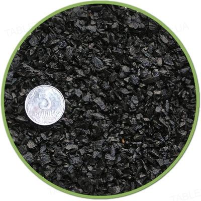 Грунт для аквариума Nechay ZOO мелкий, черный, 2 кг