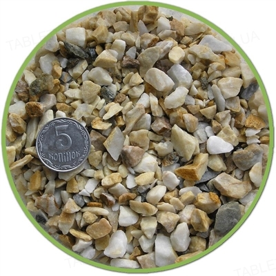 Грунт для аквариума Nechay ZOO средний, белый, 2 кг