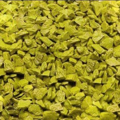 Грунт для аквариума Zeta средний (5-10 мм), желтый, 1 кг