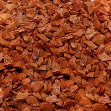 Грунт для аквариума Zeta средний (5-10 мм), оранжевый, 1 кг