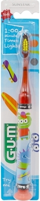 Зубная щетка GUM Junior Monster Light-UP, 1 штука