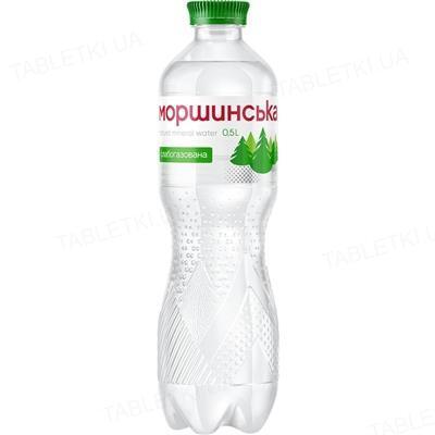 Вода минеральная Моршинская слабогазированная, 0,5 л