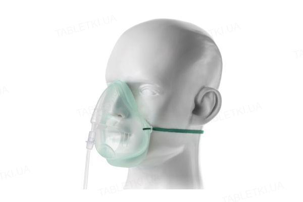 Маска кислородная Ecolite для взрослых, средней концентрации кислорода со шлангом 2,1 м