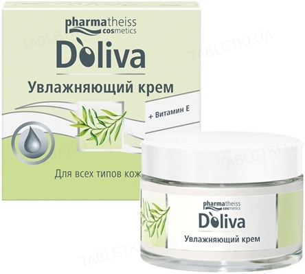 Крем Doliva увлажняющий, с витамином Е, 50 мл