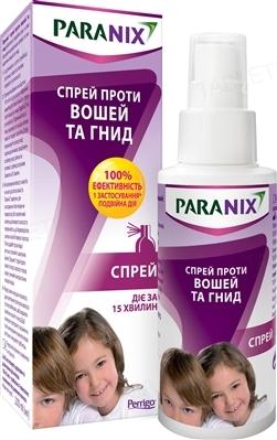 Параникс спрей противопедикулезный, 100 мл