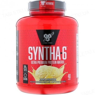 Протеїн BSN Syntha-6 Ваніль, 2,27 кг