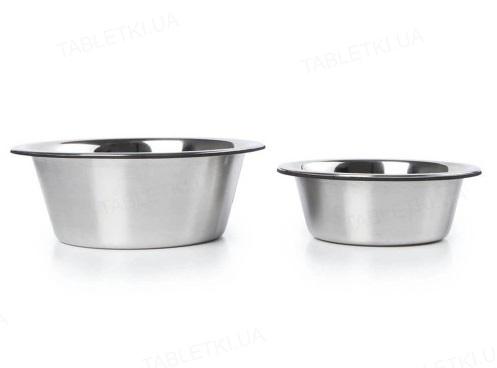 Миска Dexas Replacement Bowls сменная для модели с регулируемыми ножками, нержавеющая сталь, 960 мл, 2 штуки