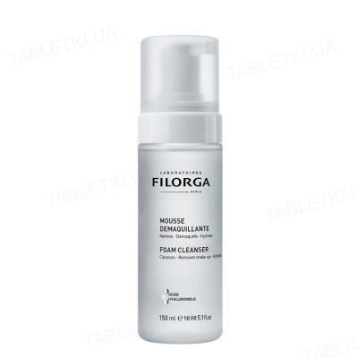 Мусс для снятия макияжа Filorga для лица, очищающий и увлажняющий, 150 мл