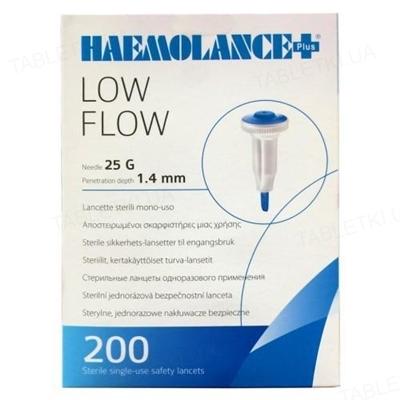 Ланцеты Haemolance Plus LOW FLOW Т420 автоматические 25G, прокол 1,4 мм, 200 штук