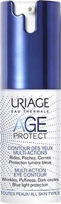 Крем для контуру очей Uriage Age Protect багатофункціональний догляд, 15 мл