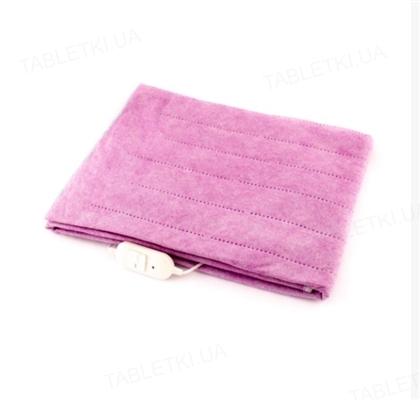 Простынь электрическая Yasam розовая с текстурой, 120 см х 160 см