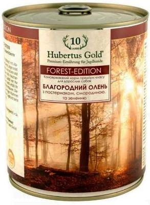 Консерва для собак Hubertus Gold Благородный олень, 800 г