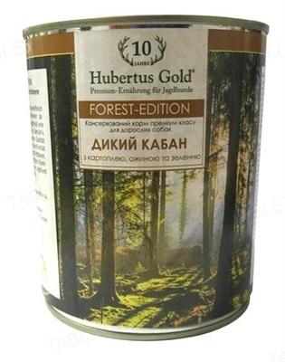 Консерва для собак Hubertus Gold Дикий кабан, 800 г