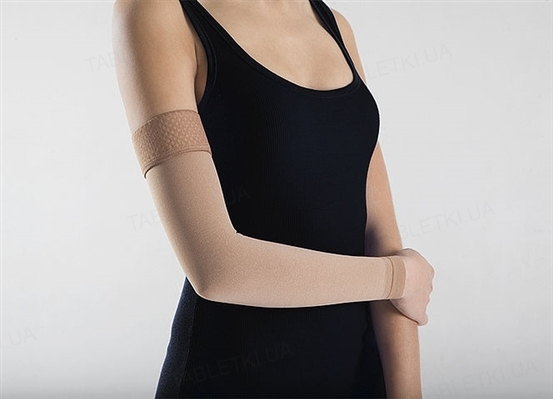 Рукав компрессионный Lauma Medical CG 501 без перчатки, 2 класс компрессии, цвет натуральный, размер 1D