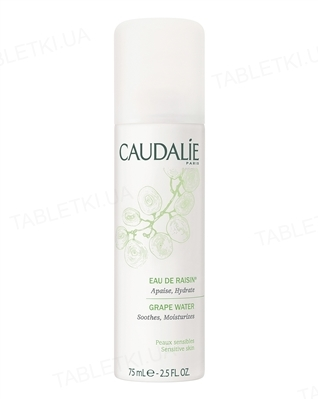 Вода Caudalie Увлажняющая виноградная для всех типов кожи, 75 мл