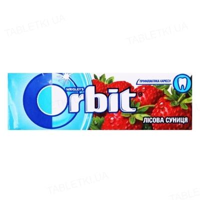 Жувальна гумка Orbit без цукру Лісова суниця, 14 г