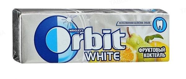 Жувальна гумка Orbit White без цукру Фруктовий коктейль, 14 г