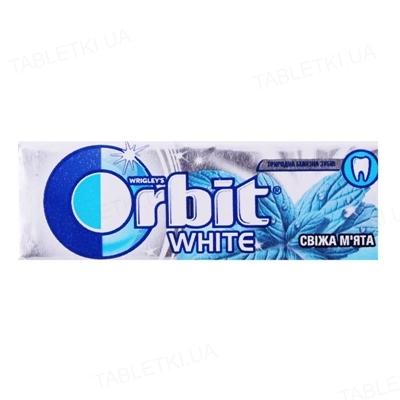 Жувальна гумка Orbit White без цукру Свіжа м'ята, 14 г