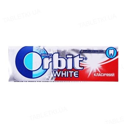 Жувальна гумка Orbit White Класичний без цукру з ароматом м'яти, 14 г