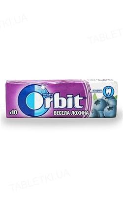 Жувальна гумка Orbit без цукру Весела лохина, 14 г
