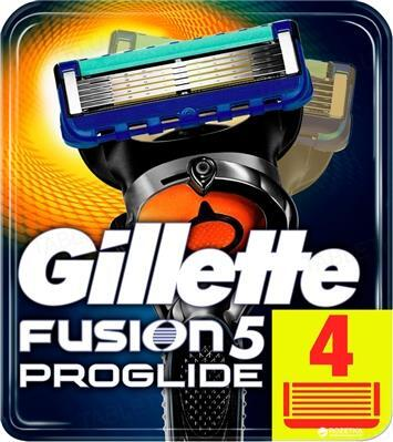 Картриджи сменные для бритья Gillette Fusion5 ProGlide, 4 штуки