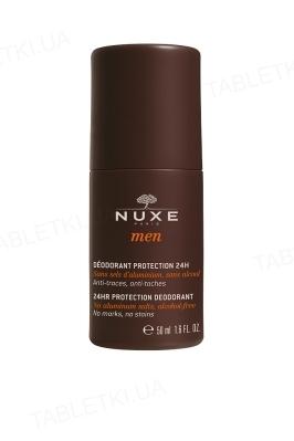 Дезодорант Nuxe Men шариковый для мужчин, защита 24 часа, 50 мл