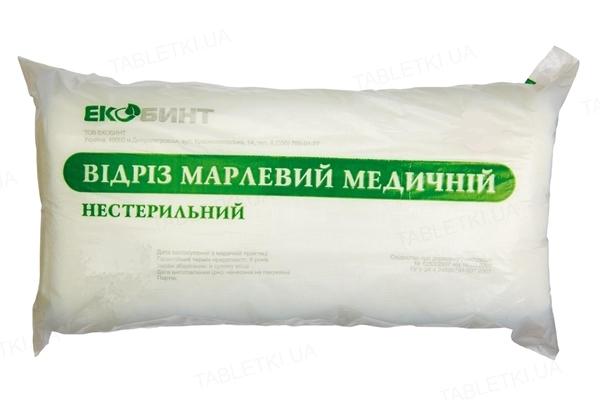 Отрез марлевый нестерильный Экобинт медицинский 10 м х 90 см, тип марли 17