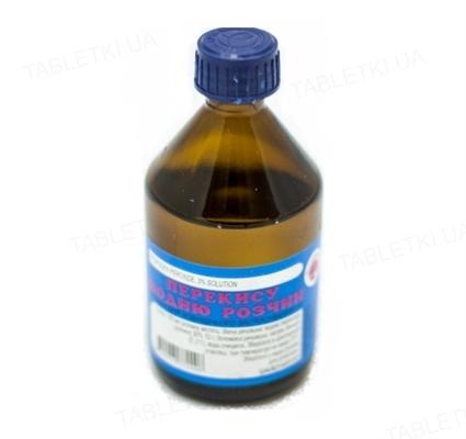 Перекись водорода раствор д/наруж. прим. 3 % по 200 мл во флак. стекл.