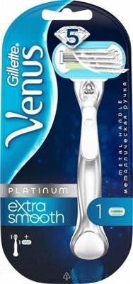 Бритва Venus Platinum Extra Smooth с металлической ручкой
