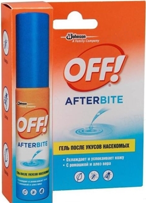 Гель OFF AfterBite після укусів комах по 25 мл у флак. з дозат.
