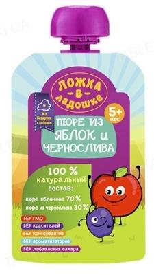 Фруктовое пюре Ложка в ладошке из чернослива, 100 г