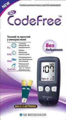 Глюкометр SD CodeFree Meddiv