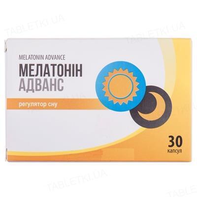 Мелатонин Адванс капсулы №30