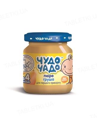 Фруктовое пюре Чудо-Чадо из груш без сахара, 90 г