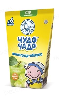 Сок фруктовый Чудо-Чадо виноградно-яблочный, 125 мл