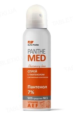 Спрей после загара Elfa Pharm Panthe Med  с пантенолом и витаминным комплексом, 150 мл