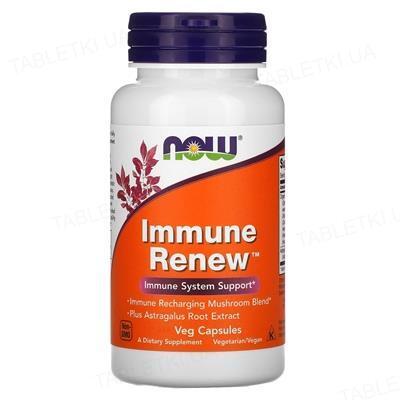 Диетическая добавка Immune Renew NOW для иммунитета капсулы №30