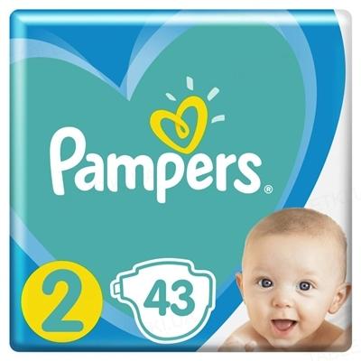 Підгузки дитячі Pampers New Baby розмір 2, 4-8 кг, 43 штуки