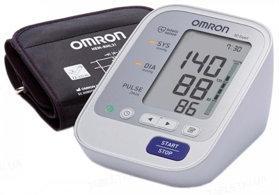 Тонометр Omron M3 Expert HEM-7132-ALRU автоматический с сетевым адаптером