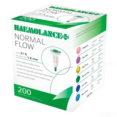Ланцеты Haemolance Plus NORMAL FLOW Т420 автоматические 21G, 200 штук
