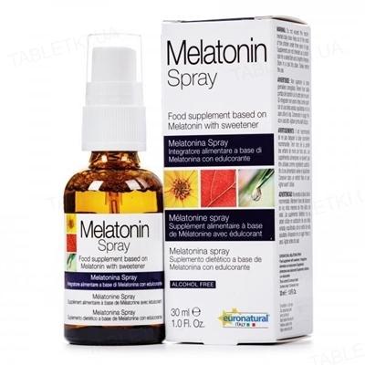 Мелатонин Новеко спрей 120 мг по 30 мл во флак.