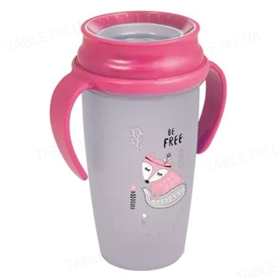 Чашка Lovi 360° Indian Summer Junior, для девички, 1/597new, 350 мл