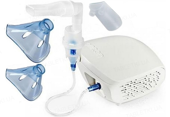 Ингалятор (небулайзер) Omron CompAir Eco NE-C302-E компрессорный с маской для взрослых