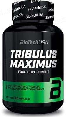 Тестостероновий бустер Biotech Tribulus Maximus 1500 мг, 90 таблеток
