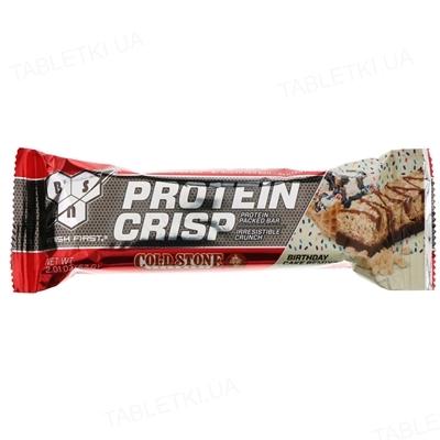 Батончик протеиновый BSN Protein Crisp Bar Birthday Cake, 57 г