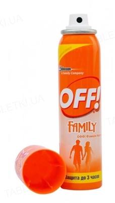 Аэрозоль OFF Family от комаров, 100 мл