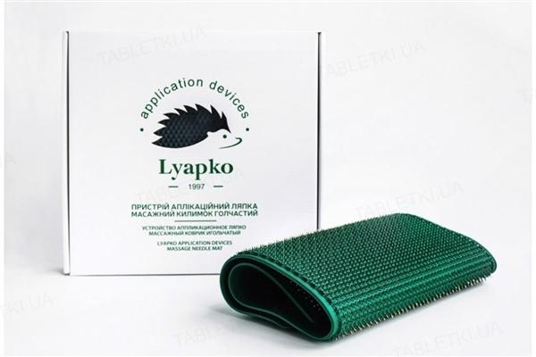 Аппликатор Ляпко Массажный коврик игольчатый большой плюс 6,2 Ag