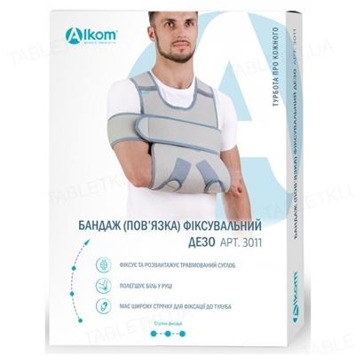Бандаж для руки Алком 3011 фиксирующая повязка Дезо, размер 2