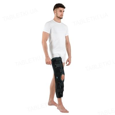 Бандаж (тутор) на коленный сустав Алком 3013 для взрослых, цвет черный, размер 1