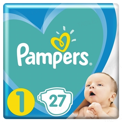 Підгузки дитячі Pampers New Baby розмір 1, 2-5 кг, 27 штук